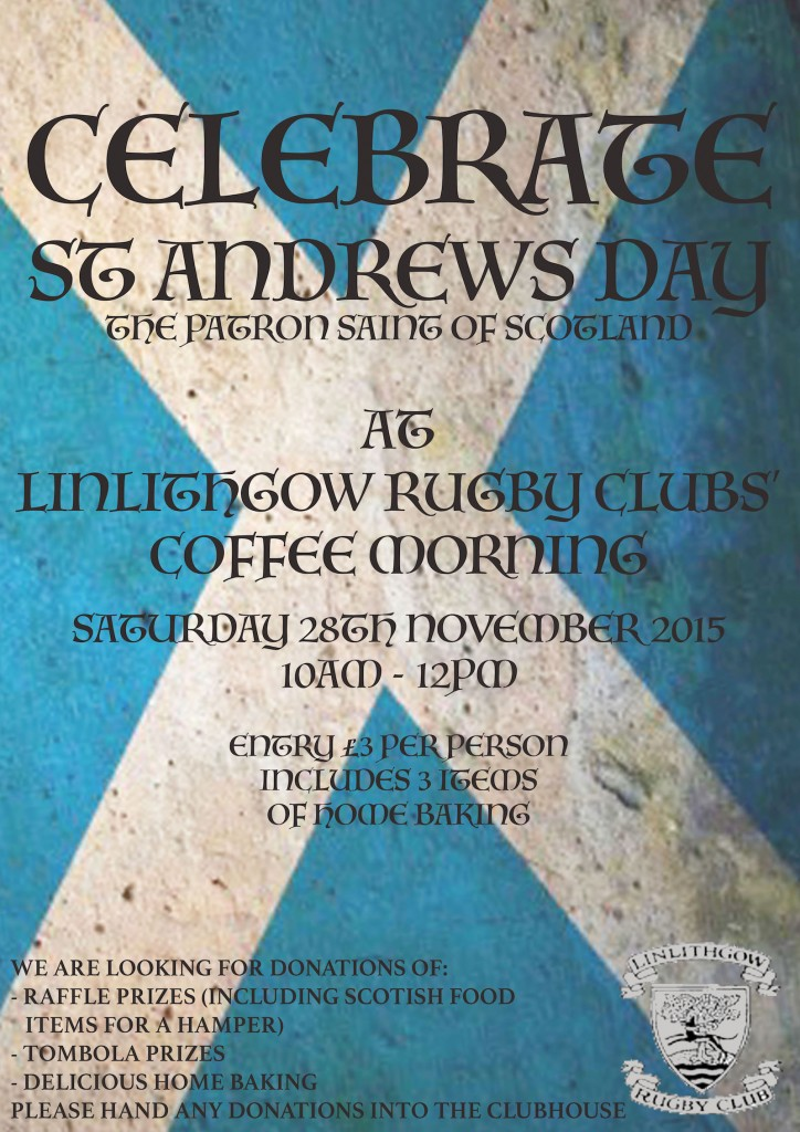 LRFC Coffee Morning Poster